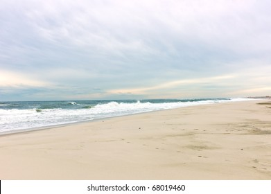 Beach on Long Island, New York