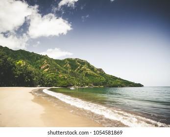 Beach on Oahu, Hawai'i