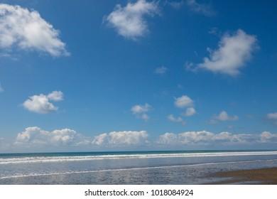 Beach on the ocean coast