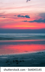 Beach on twilight time, east of Thailand