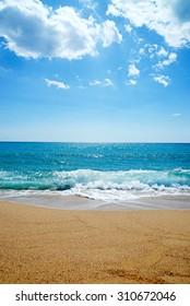 beach of Orosei Sardinia