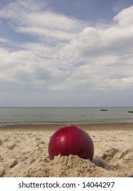 Beach over baltic sea.