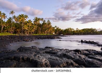 Punaluʻu Beach park - Big Island, Hawaii