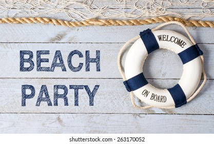 Beach Party - Welcome on Board