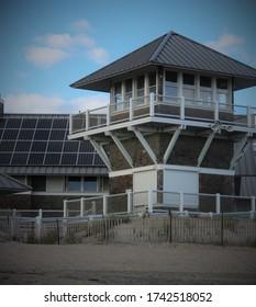 Beach Pavilion in Rhode Island