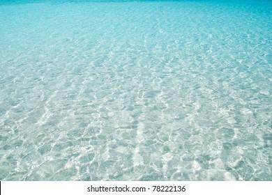 beach perfect white sand turquoise water balearic islands Spain