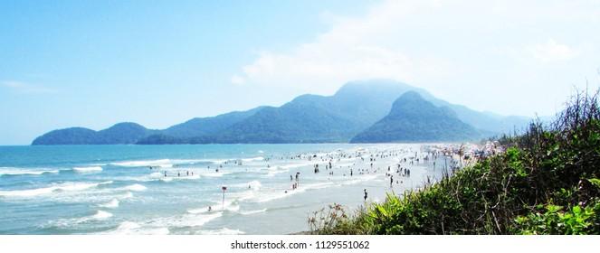 beach of peruibe São Paulo