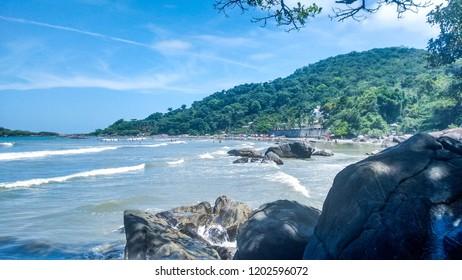 Beach of Peruibe / SP