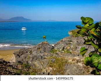 The beach Playa Alicia in Sosua