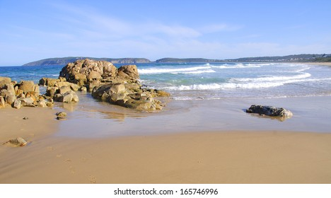 Beach in Plettenberg Bay, Garden Route, South Africa