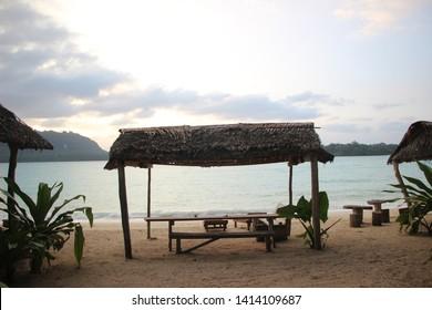 Beach in Port Olry, Espiritu Santo, Vanuatu, Oceania