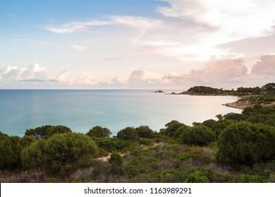 Beach of Portu sa ruxi, Villasimius, Sardinia, Italy