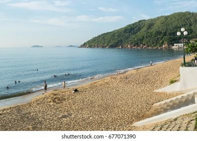 Beach and Promenade Vietnam