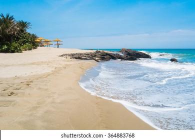 Beach of Punta Sal, Mancora, Peru