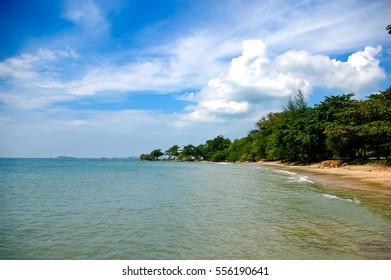 Beach in Rayong, Thailand