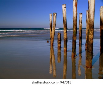 Beach Refelection