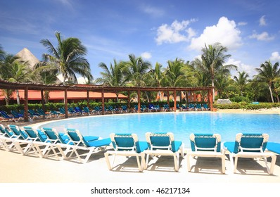 Beach resort swimming pool