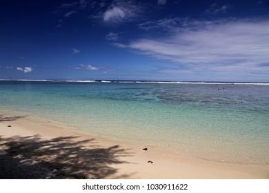 Beach of Reunion, Saint Gilles Les Bains, Reunion