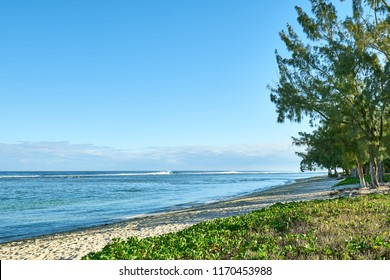 Beach of Reunion, salines les bains, Reunion