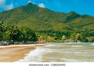 Beach in Sabang, Palawan