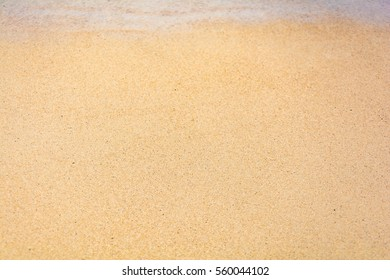 Beach sand texture and background