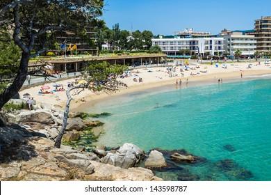 Beach of Sant Antoni de Calonge - Costa Brava.