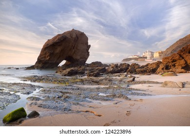 Beach in Santa Cruz, Torres Vedras, Portugal, Europe