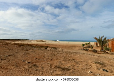 123 Kilometres South Mackay Clairview Seaside Stock Photo