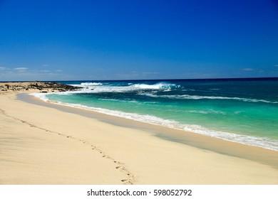 BEACH SANTA MARIA , SAL ISLAND ,CAPE VERDE