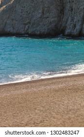 Beach in Santorini Greece