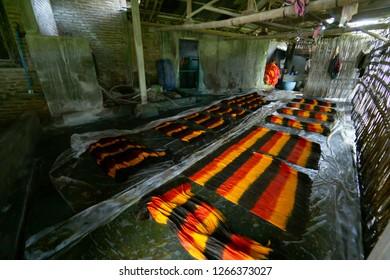 Beach sarong home industry