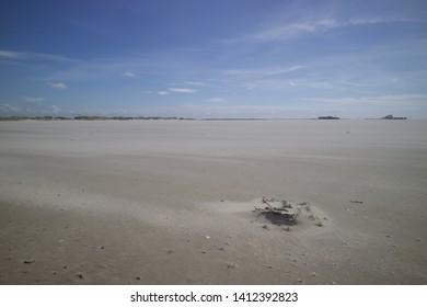beach scene from northern German coast