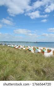 Strand Scharbeutz am Ostsee, Schleswig-Holstein, Deutschland
