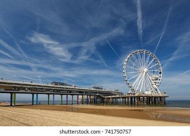 At the beach of Scheveningen