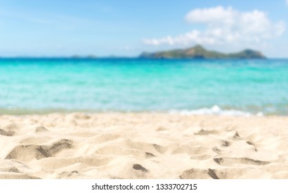 Beach and sea of holiday relax summer