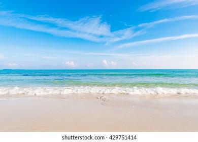 Beach, sea, landscape. Okinawa, Japan, Asia.