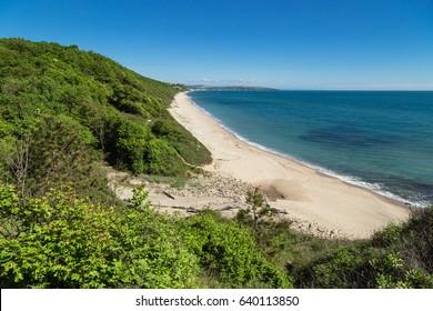 The beach of sea resort Obzor, Bulgaria