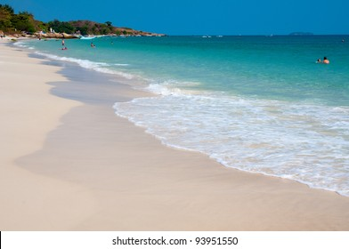 beach and sea ,Samed island in Rayong province,East of Thailand.
