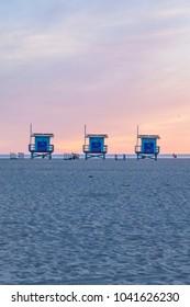 Beach Security Towers