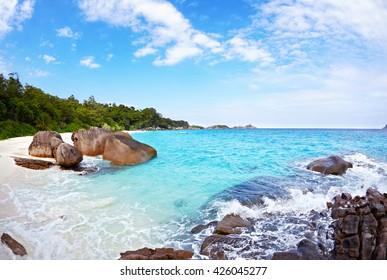 Beach of Similan Islands, Koh Miang, National Park