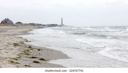 Beach at Skagen in Denmark