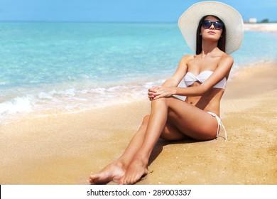 Beach, skin, life.