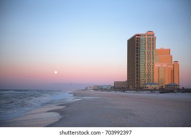 Beach Skyline at Sunrise