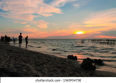 Beach Smak daun island. The Semak daun island is one of the island located digugusan islands Millennial taste. You can see beautifull sunrise.