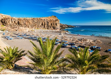beach in a small village Callao Salvaje in Tenerife, Canary Islands, Spain