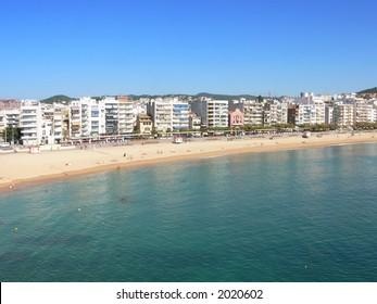 a beach in Spain / Blanes
