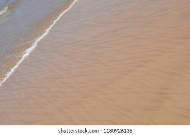 Beach at Sri Lanka with abstract pattern