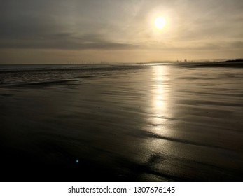 Beach Sunrise, Hartlepool, North East England