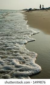 Beach at sunset (gulf shores, al)