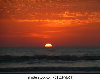 Beach Sunset on Cumberland Island